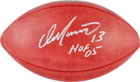 de9ad2016 Dan Marino Signed NFL Miami Dolphins Duke Football HOF Inscription ...